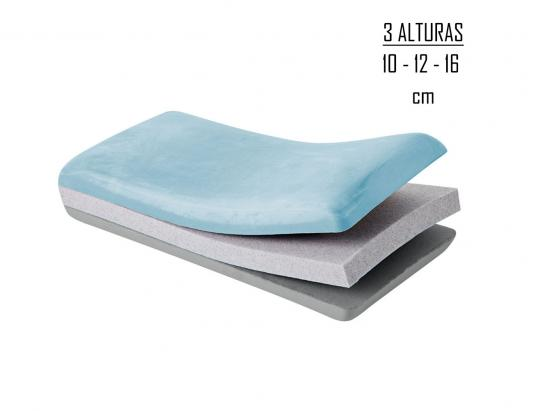 Almohada regulable altura adapta 6
